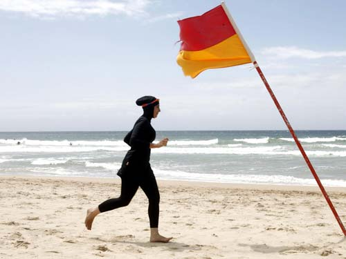 Burkini at Cannes [image source: The Independent], crowd ink, crowdink, crowdink.com, crowdink.com.au
