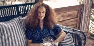 Grace Coddington [image source: W Magazine], crowd ink, crowdink, crowdink.com, crowdink.com.au