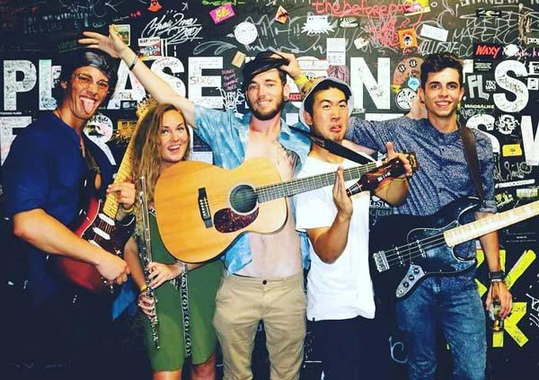 The Jake Fox Band, crowd ink, crowdink, crowdink.com, crowdink.com.au