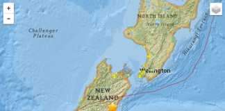New Zealand earthquake (Image Source: http://earthquake.usgs.gov), crowdink.com, crowdink.com.au, crowd ink, crowdink,