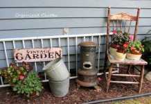 Rustic and Vintage Garden (Image Source: Pinterest), crowdink.com, crowdink.com.au, crowd ink, crowdink