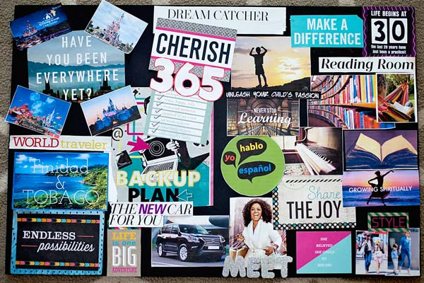 Vision Board (Image Source: babymakingmachine), crowdink.com, crowdink.com.au, crowd ink, crowdink