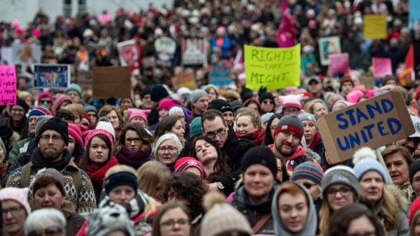 Women's March (Image Source: CBC), crowdink.com, crowdink.com.au, crowdink, corwd ink