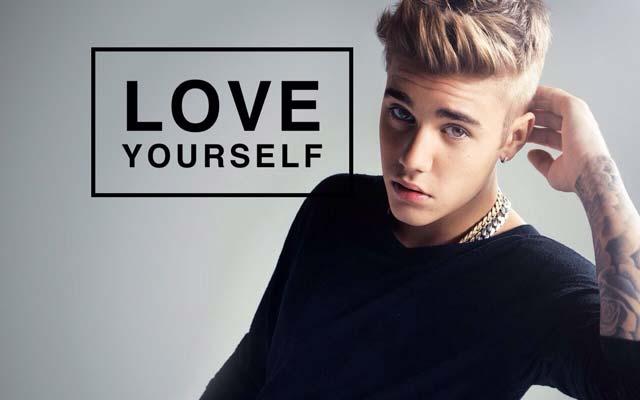 Love Yourself - Justin Bieber, crowdink.com, crowdink.com.au, crowd ink, crowdink