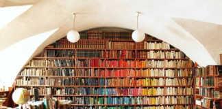 Rainbow Bookshelf crowdink.com, crowdink.com.au, crowd ink, crowdink