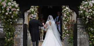 Pippa Middleton and Father Walk into church (Image Source: theguardian), crowdink.com, crowdink.com.au, crowd ink, crowdink