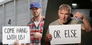 crowdink.com, crowdink.com.au, crowd ink, crowdink, Ryan Gosling and Harrison Ford in Bladerunner (Image Source: etonline)