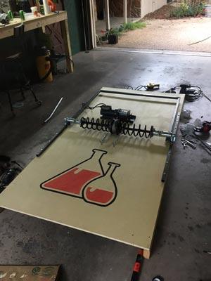 crowdink.com, crowdink.com.au, Crowdink, crowd ink, The Bakcyard Scientist Giant Mousetrap (Image Source:Twitter)