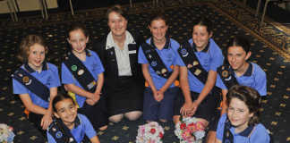 Girls Guide Australia crowdink.com, crowdink.com.au, crowd ink, crowdink