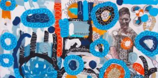 Crowdink.com,crowdink.com.au, crowd ink, crowdink, artloversaustralia, art, artist, painting, photography, Blue Memory by Simon Spain