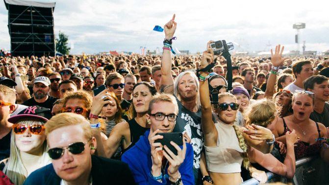 Bravalla music festival in Sweden, crowdink.com, crowdink.com.au, crowd ink, crowdink