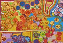 crowdink.com, crowdink.com.au, crowdink , crowd ink, Jennifer Forbes Kungkarangkalpa (Seven Sisters Story) 2017