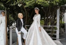 Miranda Kerr's Wedding Dress, crowdink.com, crowdink.com.au, crowd ink, crowdink