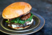 Mushroom Burger (Simple Recipes), crowdink.com, crowdink.com.au, crowd ink, crowdink