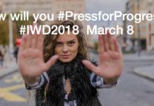 IWD calls for us all to #PressforProgress