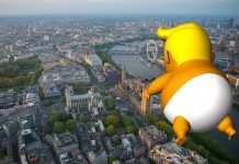'Trump Baby' to Loom over London (Image Source: CrowdFunder)