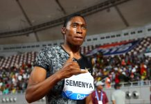 Caster Semenya (Image Source: Time Magazine)