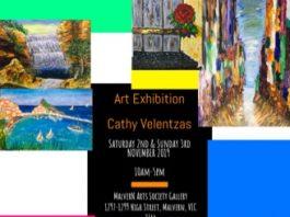 Cathy Velentzas' Art Exhibition