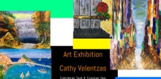Cathy Velentzas' Art Exhibition