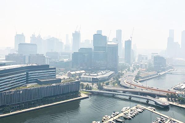 Air quality Melbourne