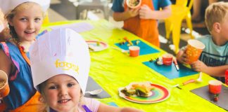 Free kids cooking workshops at Armada Dandenong Plaza these school holidays