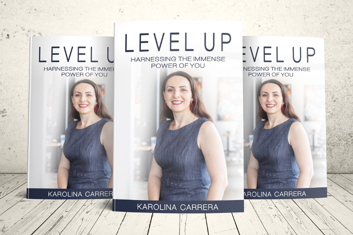 Level Up was inspired by Karolina's journey to embrace new possibilities.