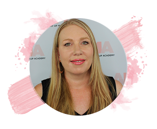 Leanne Bennett, founder and principal of Artistry of Makeup Academy.
