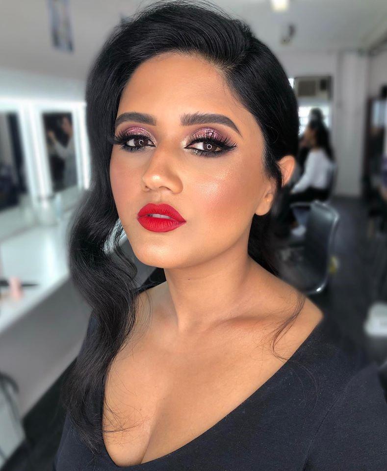 Makeup looks created at AMA.