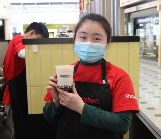 Armada Dandenong Plaza expands Dining Offering with Sharetea